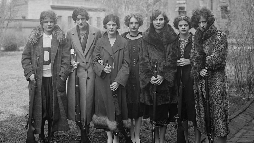 Women's Rifle team (1925)